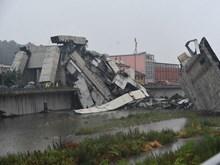 [Video] Quang cảnh vụ sập cầu cao tốc tại thành phố Genoa của Italy