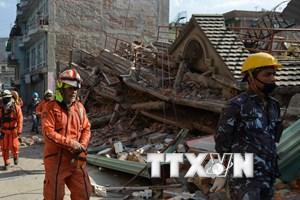 Hơn 1.000 người thương vong do trận động đất mới ở Nepal