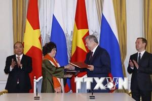 """""""Nga sẵn sàng hợp tác với Việt Nam trong nhiều lĩnh vực"""""""