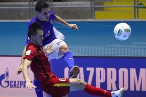 Hình ảnh đáng nhớ ngày Futsal Việt Nam giành vé vào vòng 1/8