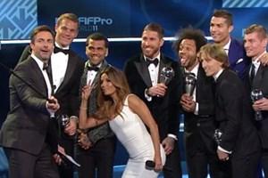 La Liga thống trị ở đội hình tiêu biểu năm 2016 của FIFA