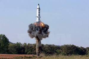 """Bộ trưởng Quốc phòng Mỹ: Mối đe dọa từ Triều Tiên là """"rõ ràng"""""""