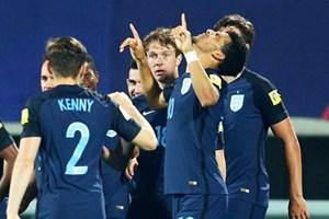 """U20 World Cup: Vượt ải Mexico, Anh """"đại chiến"""" Italy ở bán kết"""