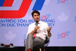 [Video] Thủ tướng Canada Justin Trudeau thăm Thành phố Hồ Chí Minh