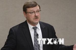 Ông Konstantin Kosachev: Nga không can thiệp vào bầu cử Mỹ