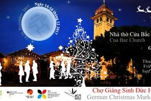Chợ Giáng sinh kiểu Đức lần đầu tiên được tổ chức tại Hà Nội