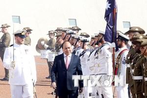[Photo] Thủ tướng Nguyễn Xuân Phúc thăm chính thức Australia