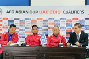 Đội tuyển Việt Nam quyết giành chiến thắng trên đất Jordan