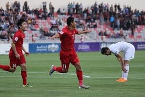 Anh Đức lập công, đội tuyển Việt Nam chia điểm trên sân Jordan