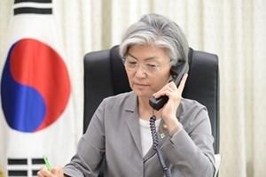 Ngoại trưởng Nhật Bản, Hàn Quốc điện đàm về một loạt vấn đề