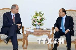 Thủ tướng Nguyễn Xuân Phúc tiếp Đại sứ Cộng hòa Liên bang Đức