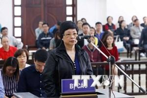 Đề nghị giữ nguyên tội danh và hình phạt với bị cáo Châu Thị Thu Nga