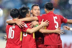 Bốc thăm VCK Asian Cup 2019: Tuyển Việt Nam xác định đối thủ