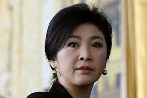 'Không có thông tin việc bà Yingluck được Anh cấp thị thực'