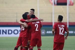 U19 Việt Nam giành chiến thắng 5-0 trước U19 Philippines