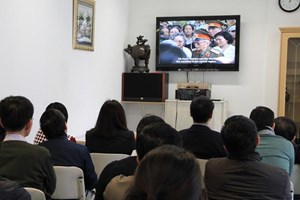 Tổ chức chiếu phim về chiến thắng Điện Biên Phủ tại Đức