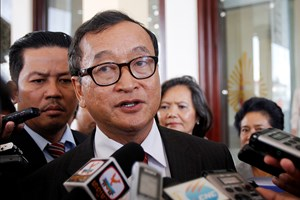 Quốc hội Campuchia bãi miễn tư cách đại biểu của ông Sam Rainsy