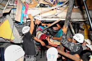 Hàng trăm đợt dư chấn tiếp tục xảy ra sau động đất ở Ecuador