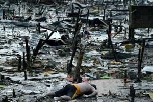Lực lượng nước ngoài tại vùng thiên tai của Philippines