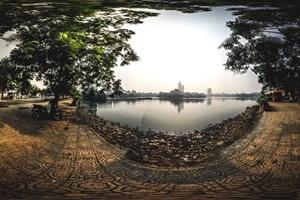 [Hình ảnh 360 độ] Hồ Trúc Bạch - Ảnh 1