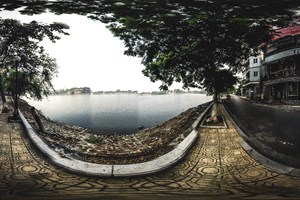 [Hình ảnh 360 độ] Hồ Trúc Bạch - Ảnh 2