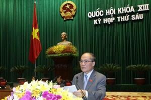 Phát biểu bế mạc kỳ họp thứ sáu Quốc hội khóa XIII