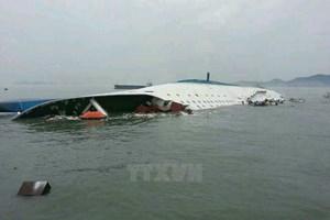 Hàn Quốc tạm dừng chiến dịch trục vớt phà SEWOL do thời tiết xấu