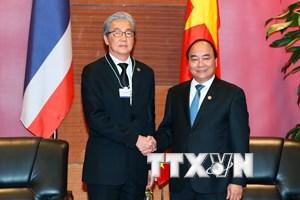 Việt Nam-Thái Lan phấn đấu nâng kim ngạch thương mại lên 20 tỷ USD