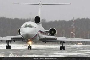 Nga đình chỉ hoạt động đối với tất cả máy bay Tupolev-154