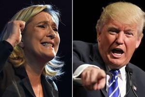 Bầu cử Tổng thống Pháp: Bà Le Pen có phong cách giống ông Trump
