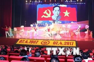 [Photo] Toàn cảnh lễ kỷ niệm 110 năm ngày sinh Tổng Bí thư Lê Duẩn