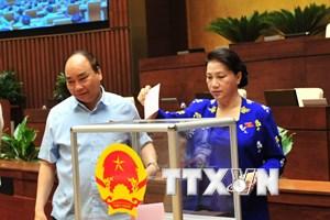 Quốc hội phê chuẩn việc bổ nhiệm thẩm phán Tòa án Nhân dân Tối cao