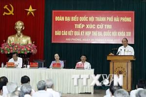 Thủ tướng trả lời cử tri về bất cập trong quy hoạch bán đảo Sơn Trà