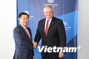 Phó Thủ tướng Vương Đình Huệ thăm và làm việc tại Australia