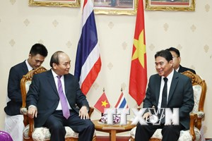 Thủ tướng Nguyễn Xuân Phúc gặp Tỉnh trưởng Nakhon Phanom