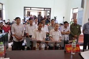 10 trong số 14 bị cáo vụ vi phạm đất đai ở Đồng Tâm làm đơn kháng cáo