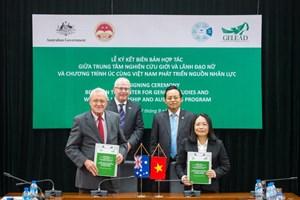 Australia hỗ trợ Việt Nam thúc đẩy vai trò lãnh đạo của phụ nữ