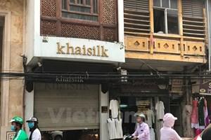 Thành phố Hồ Chí Minh đồng loạt kiểm tra các cửa hàng Khaisilk