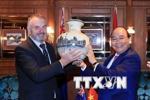 Thủ tướng Nguyễn Xuân Phúc hội kiến Chủ tịch Quốc hội New Zealand