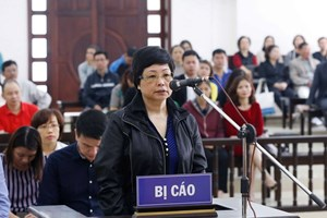 Xử Châu Thị Thu Nga: Y án tù chung thân, buộc bồi thường 54 tỷ đồng