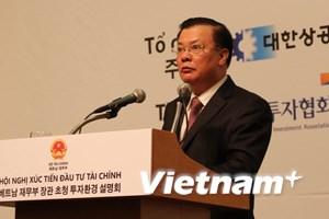 Việt Nam đẩy mạnh hoạt động xúc tiến đầu tư tại Hàn Quốc