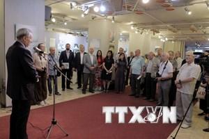 Khai mạc triển lãm về Chủ tịch Hồ Chí Minh ở thủ đô Moskva