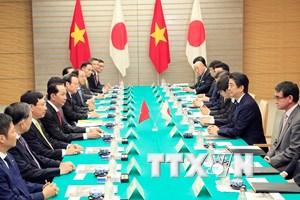 Các hoạt động của Chủ tịch nước Trần Đại Quang tại Nhật Bản
