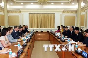 Thành phố Hồ Chí Minh đẩy mạnh hợp tác với Saint Petersburg