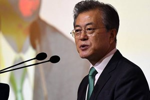 Tổng thống Hàn Quốc kêu gọi nỗ lực phi hạt nhân hóa chân thành