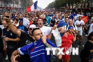 Lễ mừng công tại Pháp và Croatia được lên kế hoạch ra sao?