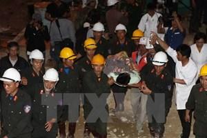 Công binh giải cứu 12 công nhân mắc kẹt ở Đạ Dâng như thế nào?
