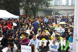 """Hong Kong đối mặt làn sóng biểu tình """"Chiếm Trung tâm"""" mới"""