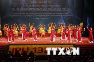 Thư cảm ơn Việt Nam của Ban Tổ chức Đại hội đồng IPU-132