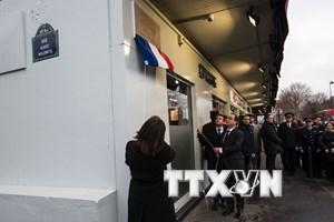 [Video] Pháp bắt đầu tuần lễ tưởng niệm nạn nhân vụ Charlie Hebdo
